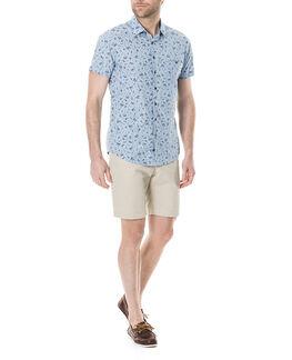 Urquharts Sports Fit Shirt/Sky XS, SKY, hi-res