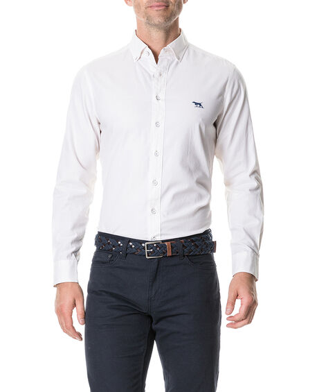 Gunn II Sports Fit Shirt, SNOW, hi-res