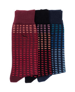 Cascade River Three Pack Sock/Multi 0, MULTI, hi-res