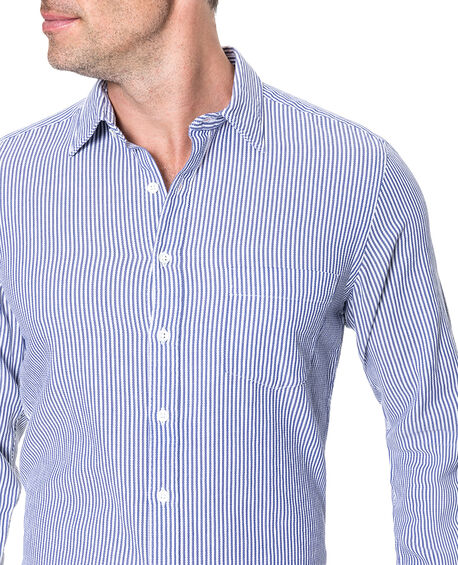 Queensberry Sports Fit Shirt, ROYAL, hi-res