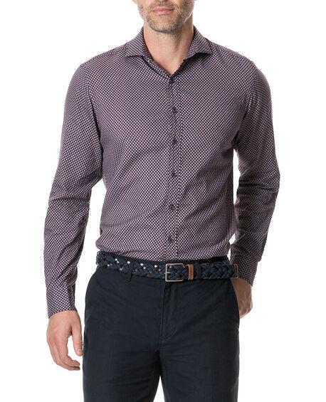 Marsden Bay Sports Fit Shirt, BORDEAUX, hi-res