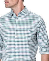 Shorecliffe Sports Fit Shirt, FOREST, hi-res