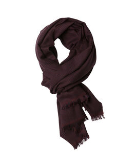 Hassett Drive Scarf, PINOT NOIR, hi-res