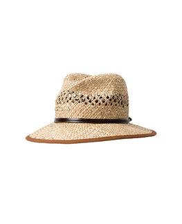 Woodlands Bay Straw Hat, THISTLE, hi-res