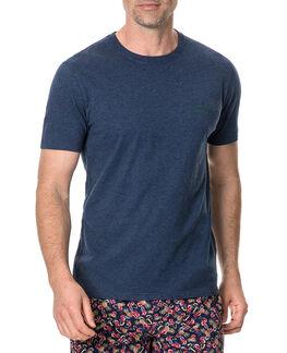 Camp Valley T-Shirt , NAVY, hi-res