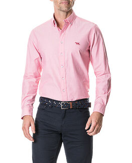 Gunn Iv Sports Fit Shirt/Coral XS, CORAL, hi-res