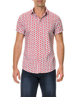 Mellons Bay Sports Fit Shirt/Watermelon XS, WATERMELON, hi-res