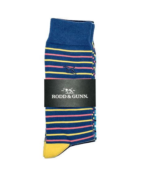 Heaphy Shoal Three Pack Sock/Coral Sea 0, CORAL SEA, hi-res