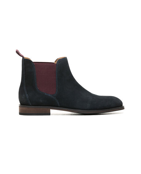 Kingsview Road Chelsea Boot, NAVY, hi-res