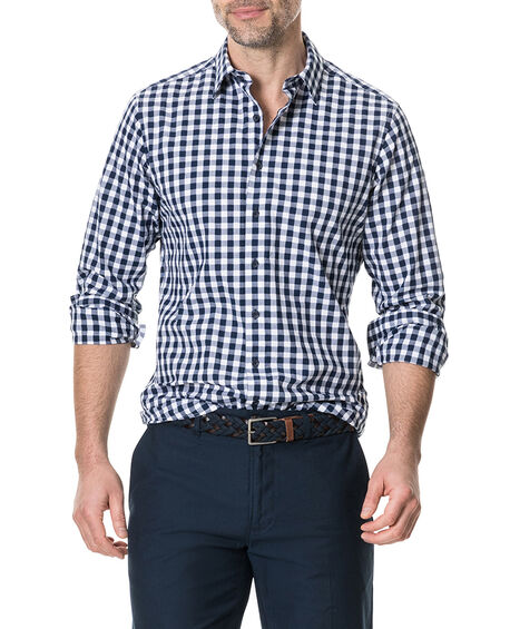 Dixon Sports Fit Shirt, NAVY, hi-res