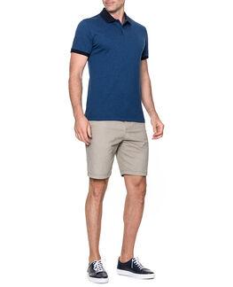 Mantle Hill Sports Fit Polo/Ocean XS, OCEAN, hi-res