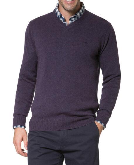 Inchbonnie Sweater, AUBERGINE, hi-res
