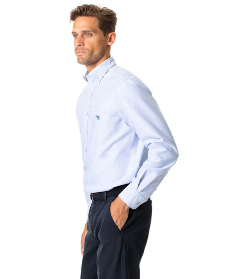 North Island Oxford Sports Fit Shirt, SKY, hi-res