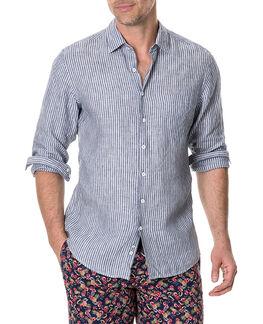 Tweed Street Sports Fit Shirt/Ink XS, INK, hi-res