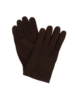 Hunterville Leather Glove/Chocolate S/M, CHOCOLATE, hi-res