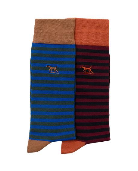 Miranda Road Two Pack Sock, , hi-res