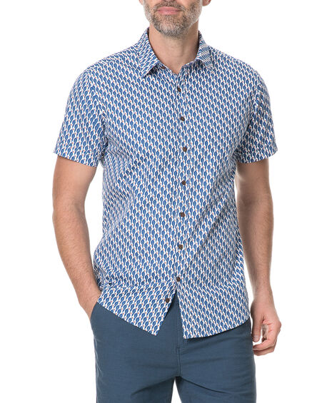 Amritsar Sports Fit Shirt, BLUEBELL, hi-res