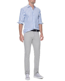 Brancott Sports Fit Shirt, BLUEJAY, hi-res