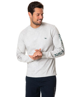 Manor Park L/S Tee, SLATE, hi-res