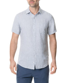 Ellerslie Sports Fit Shirt, ELEPHANT, hi-res
