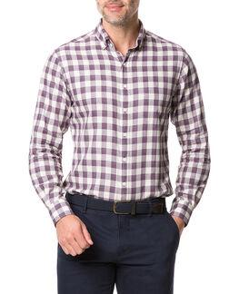 Barryville Sports Fit Shirt, PORT, hi-res