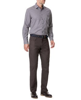 Everton Terrace Shirt/Burgundy XS, BURGUNDY, hi-res