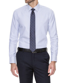 Greystoke Slim Fit Shirt/Cloud 38, CLOUD, hi-res