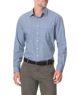 Knapdale Sports Fit Shirt/Bluebell LG, BLUEBELL, hi-res