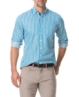 Carlyon Sports Fit Shirt/Ocean XS, OCEAN, hi-res