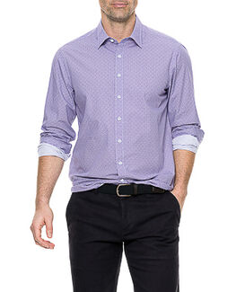 East Chatton Shirt/Grape XS, GRAPE, hi-res