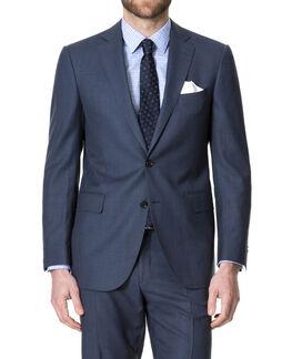 Broadgate Jacket/Indigo 36R, INDIGO, hi-res