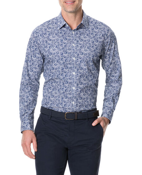 Birmingham Sports Fit Shirt, ROYAL, hi-res