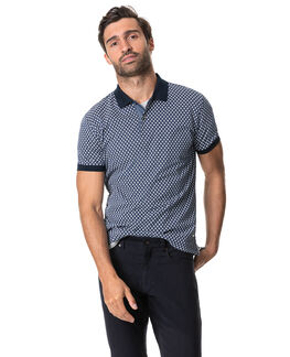 Raview Sports Fit Polo, DENIM, hi-res