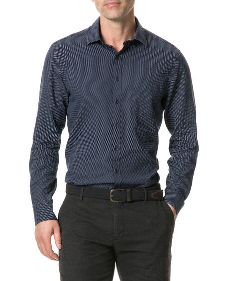 Blackstone Hill Shirt, NAVY, hi-res