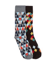 Eversham Two Pack Sock, CARNIVAL, hi-res