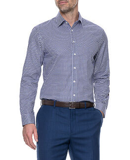 Fenchurch Tailored Shirt/Royal 43/XL, ROYAL, hi-res
