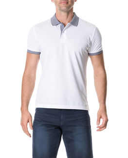 Newmarket Sports Fit Polo, SNOW, hi-res