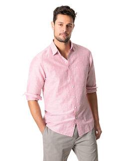 Lynwood Sports Fit Shirt, CLARET, hi-res