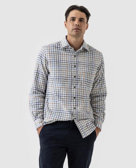Haythorne Sports Fit Shirt, SNOW, hi-res