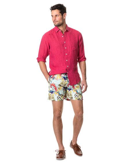 Coromandel Sports Fit Shirt, POMEGRANATE, hi-res