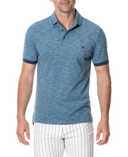 Hampstead Sports Fit Polo, SEA, hi-res