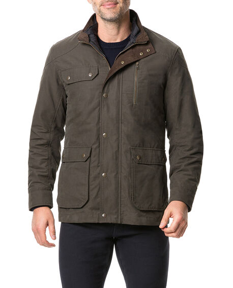 Harper Waxed Jacket, , hi-res