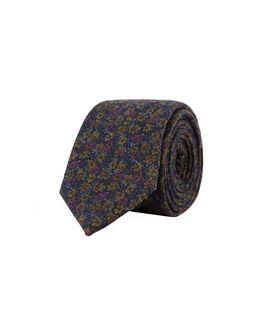 Jermyn Street Tie, BLUEBERRY, hi-res