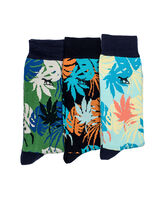 Mcclatchie Reef Three Pack Sock/Island 0, ISLAND, hi-res