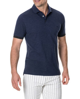 Hampstead Sports Fit Polo, MIDNIGHT, hi-res