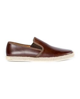 Seaview Road Espadrille Sneaker/Chocolate 41, CHOCOLATE, hi-res