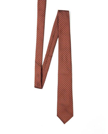 Torrington Place Tie, BURNT ORANGE, hi-res