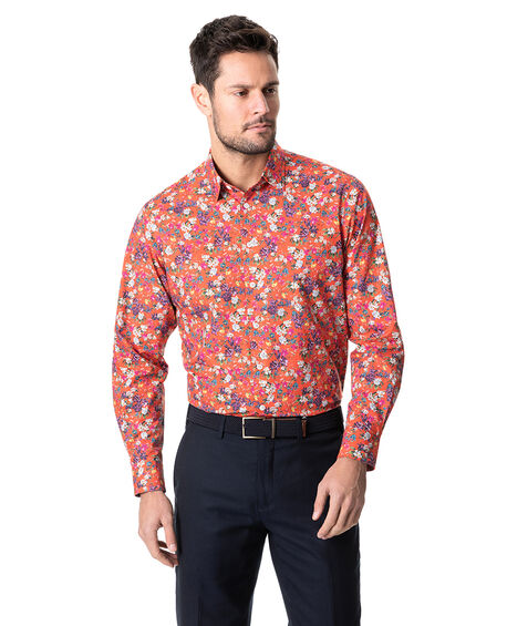 Rosser Street Sports Fit Shirt, GARNET, hi-res