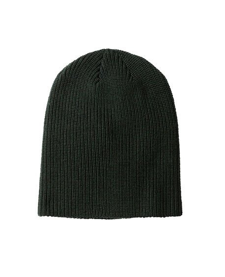 Big Hill Rd Beanie/Emerald 0, EMERALD, hi-res