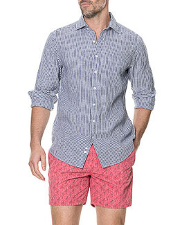 Derby Sports Fit Shirt/Slate XS, SLATE, hi-res